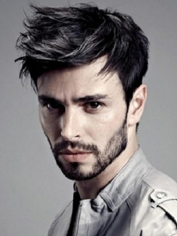 Best Men's Layered Hairstyles - Layers with Spikes
