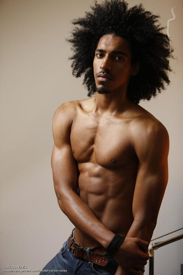 The Afro Style - Best Black Men Long Hairstyles