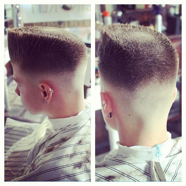 Dope flat top cut