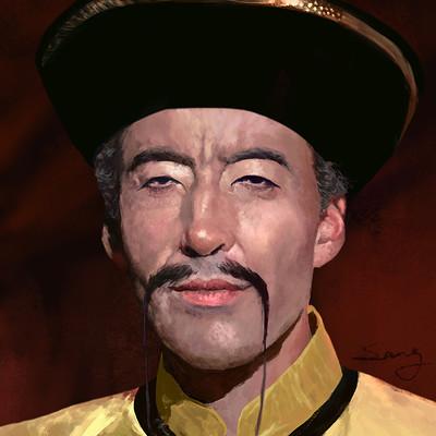 Asian Tojo Master moustache style