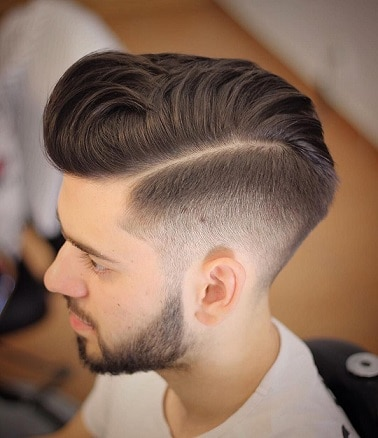 Half Hard Part with High Fade