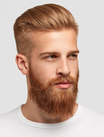 Slick and Straight Side Part Hairstyle men 01