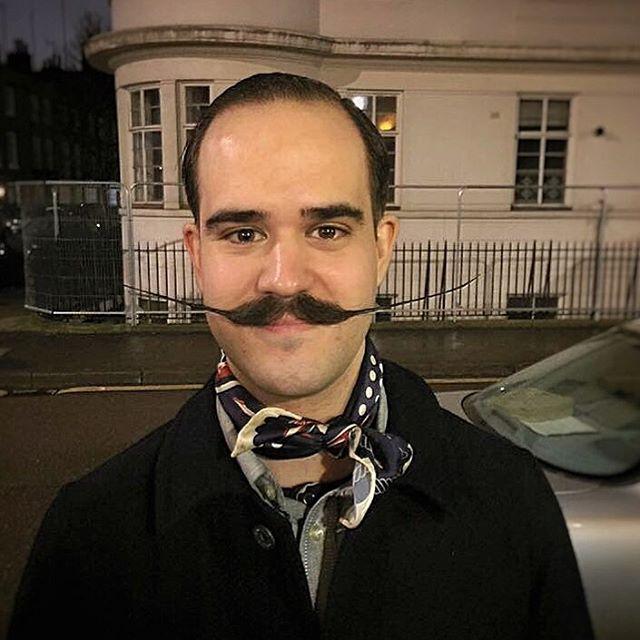11 handlebar mustache