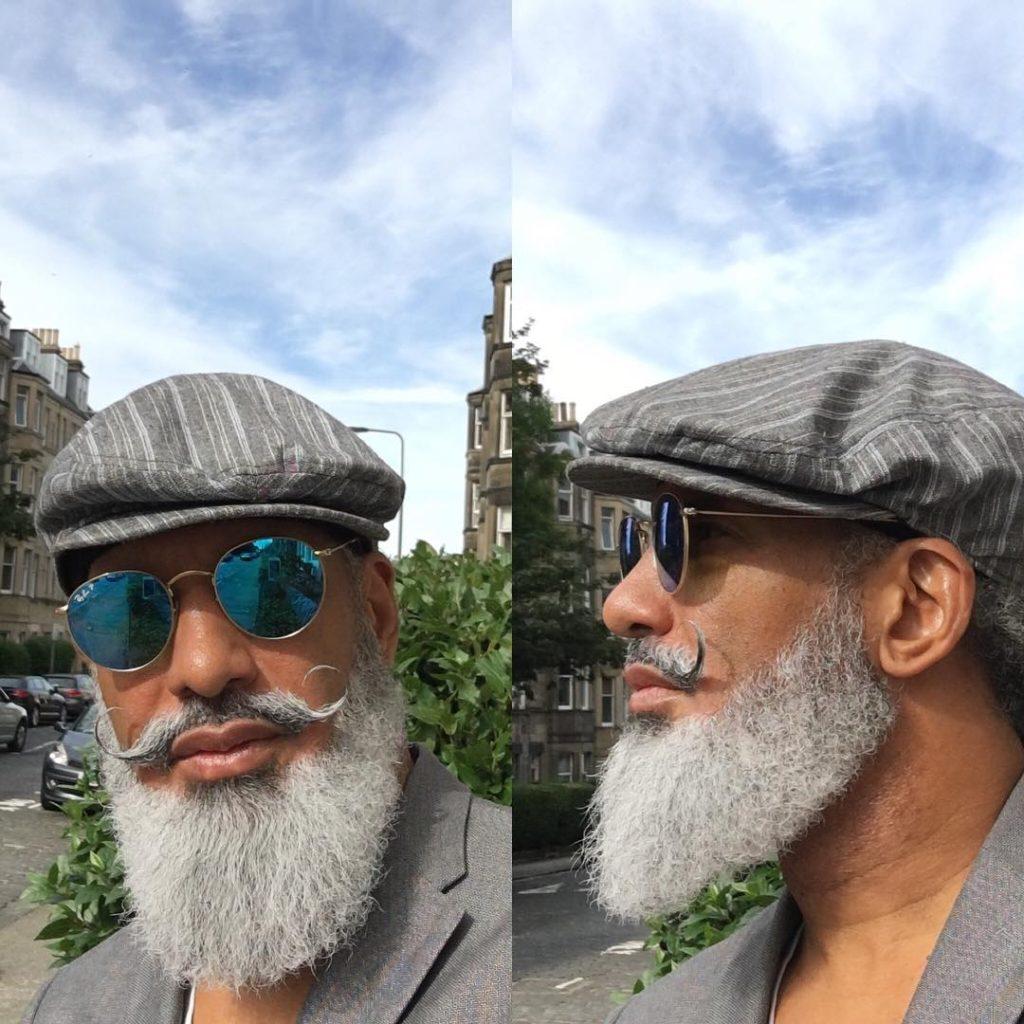 12 handlebar mustache