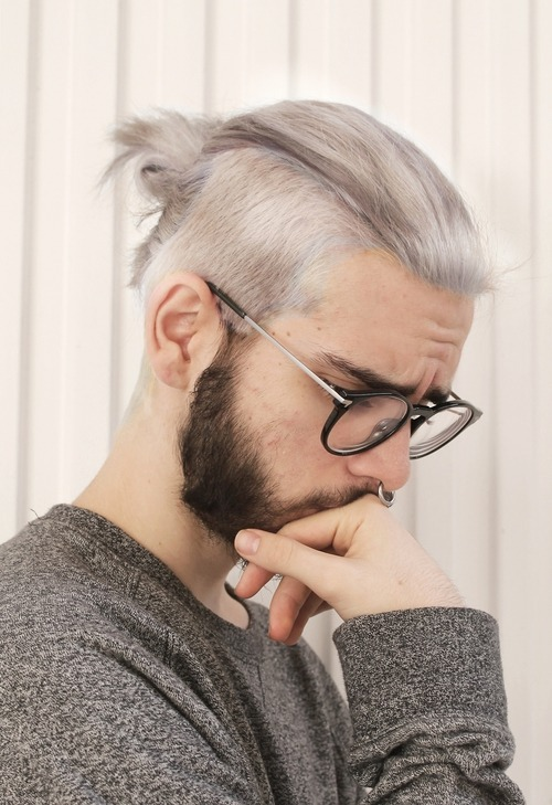 Top Knot Man Bun  40 Best Top Knot Hairstyles - How to Style 0549a201e3