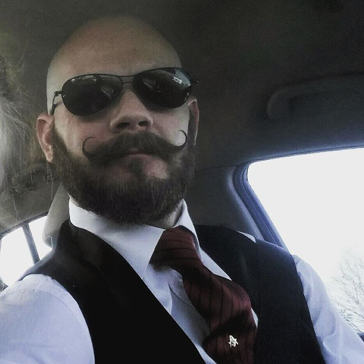 18 handlebar mustache