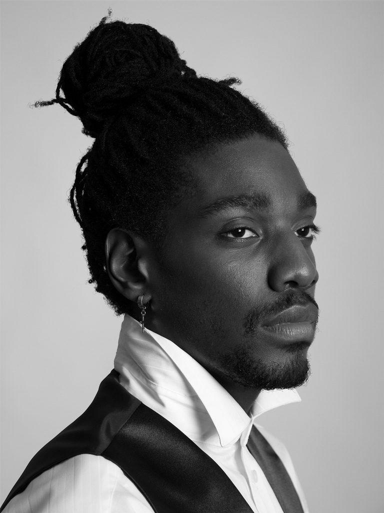 Man Bun Hairstyles for Black Men