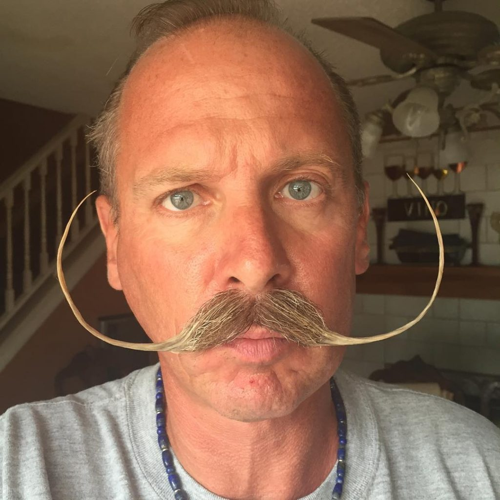 22 handlebar mustache