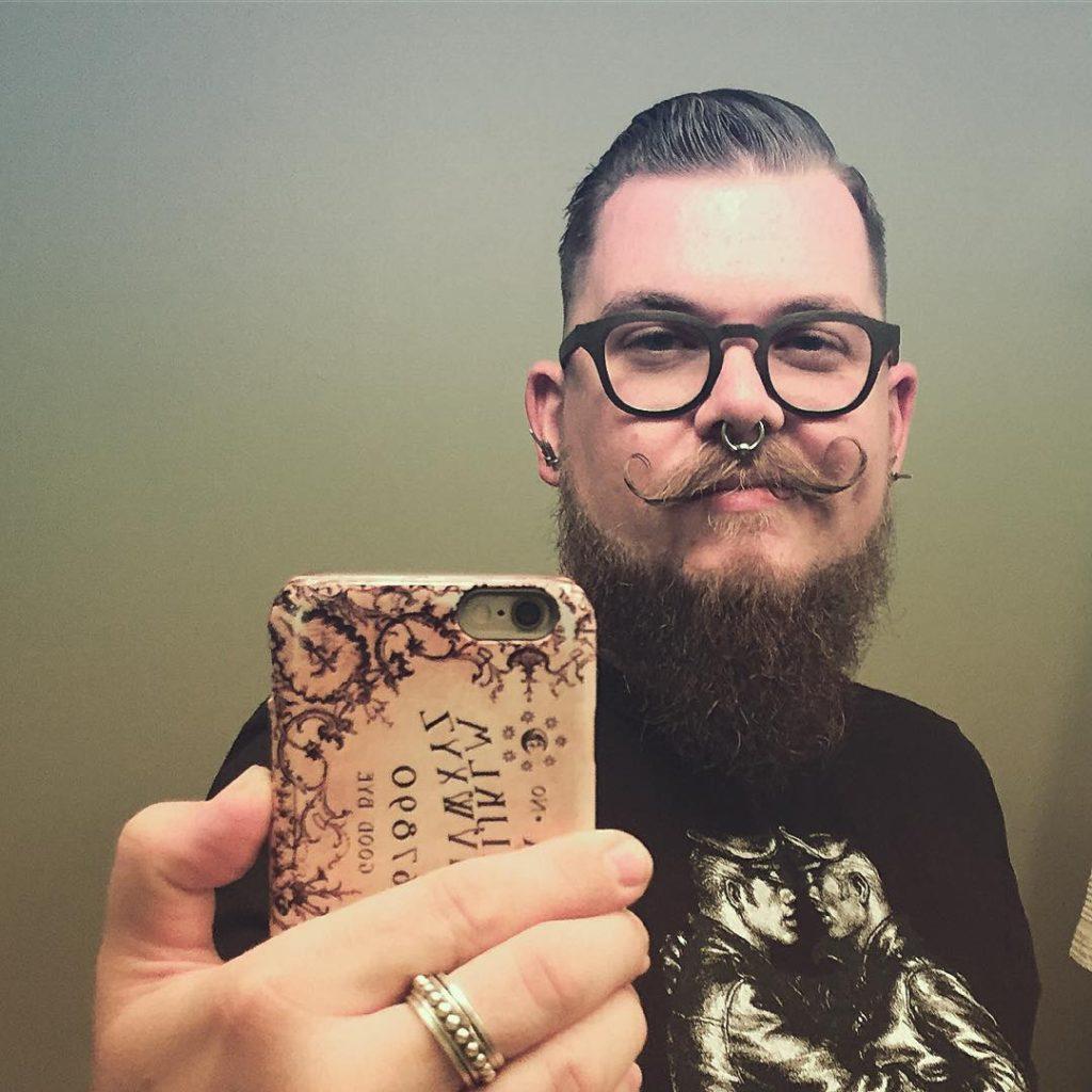 24 handlebar mustache