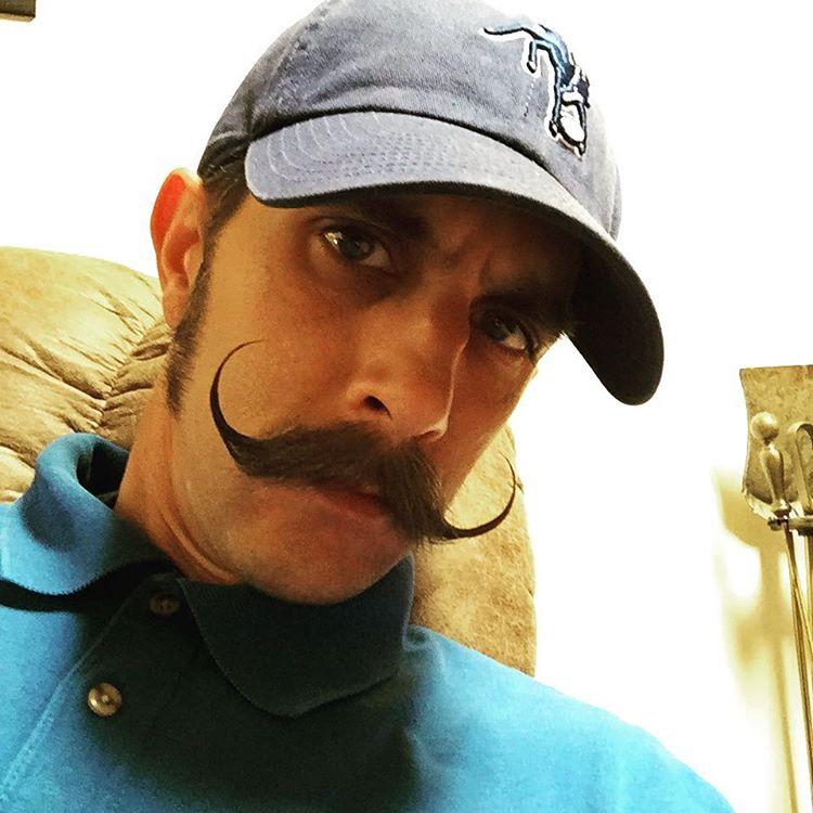 26 handlebar mustache