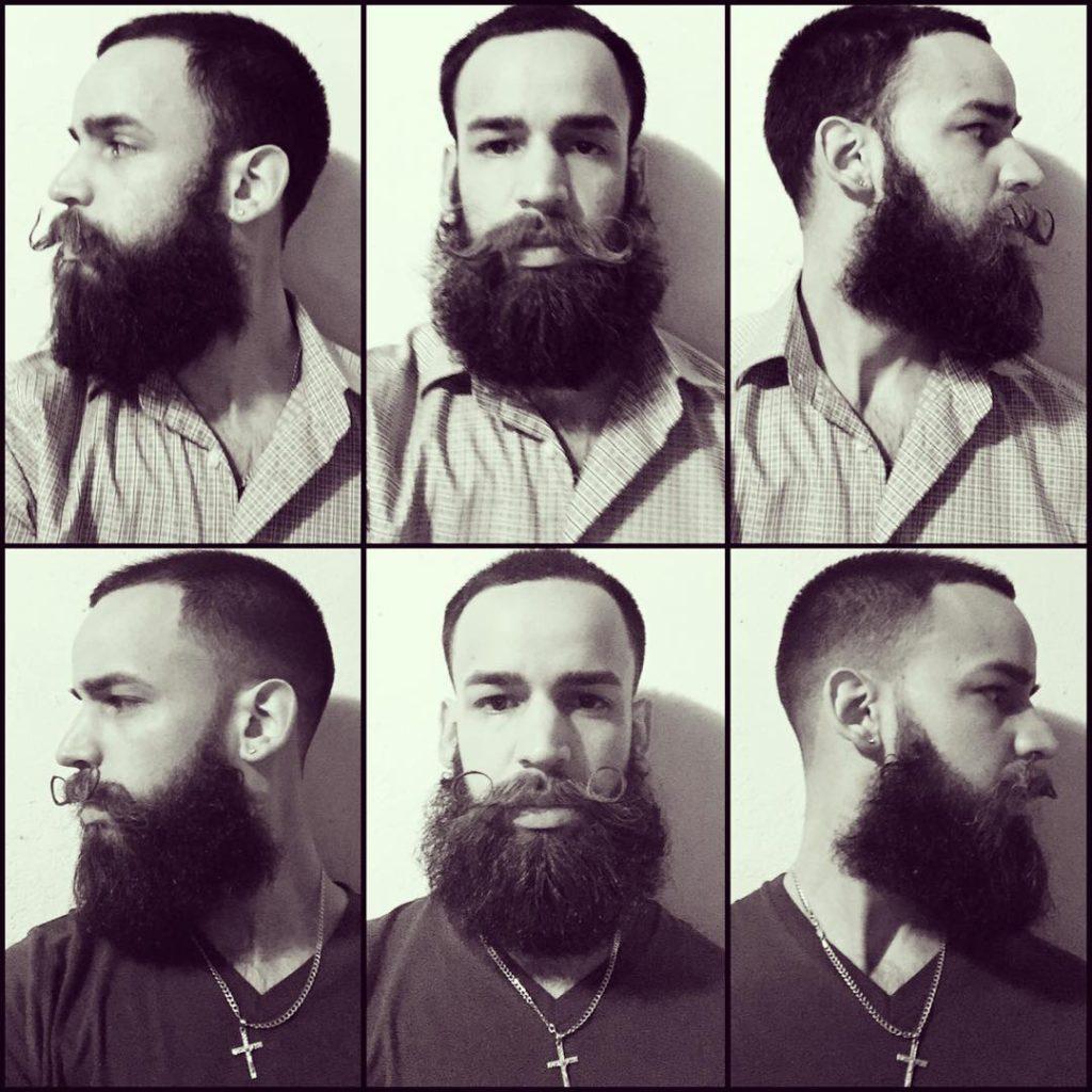 27 handlebar mustache