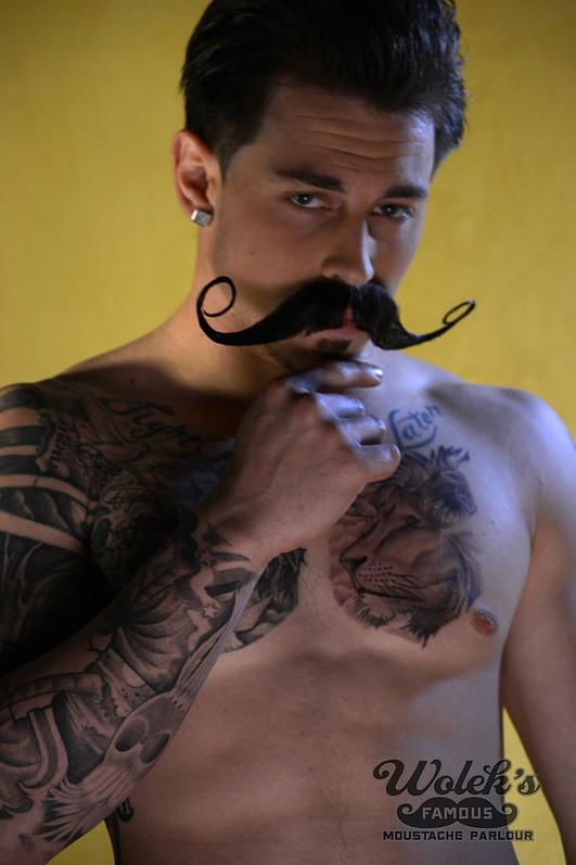 A Real Nice Handlebar Mustache