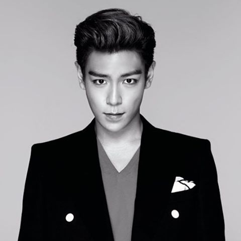 Pompadour style for Korean men