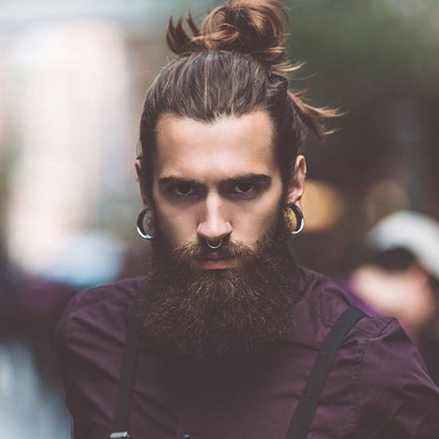 Man Bun 70 Best Man Bun Hairstyle And Top Knot Cuts
