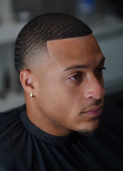 Buzz Cut with Cool Details