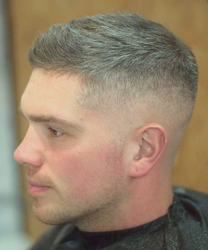 Buzz Cut with Varying Length