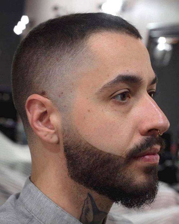 The Buzz Cut with Beard