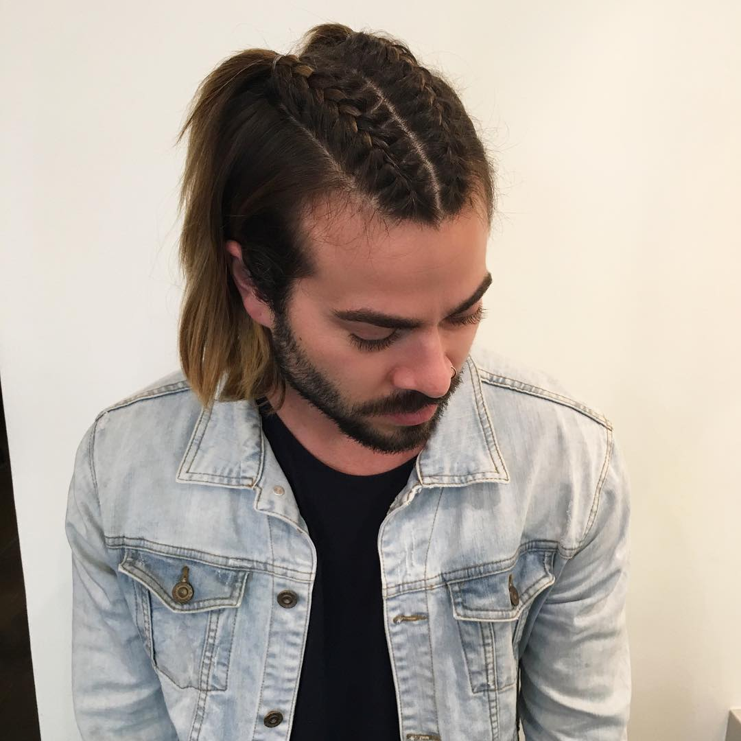 Cornrow Braid Hairstyles: 40 Best Braided Hairstyles For Boys and Men - AtoZ Hairstyles