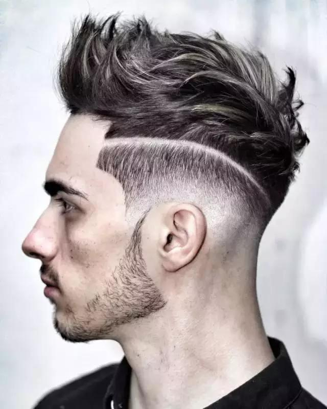 Geometric Look Line Hairstyle