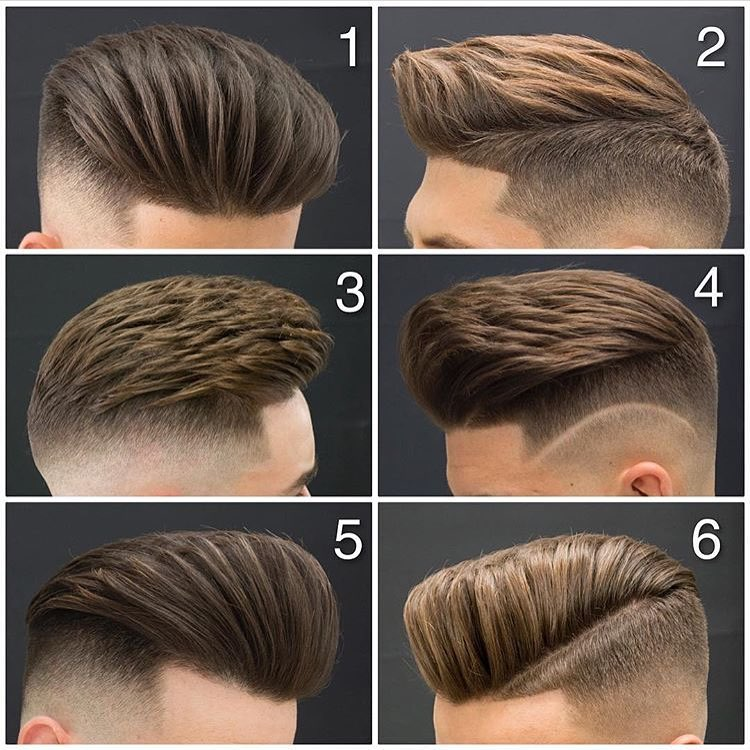 Disconnected Pompadour Style