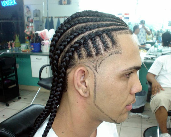 Braid with lines