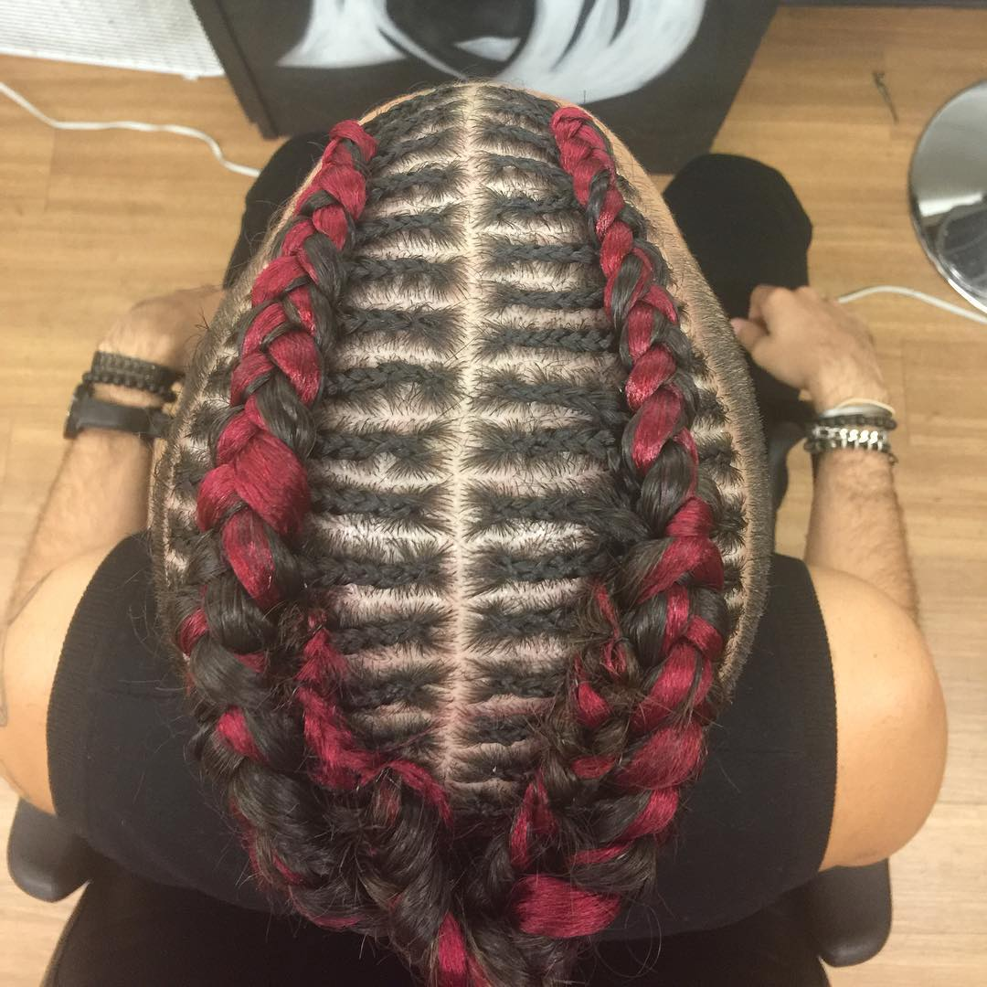 Double Braided Mohawk