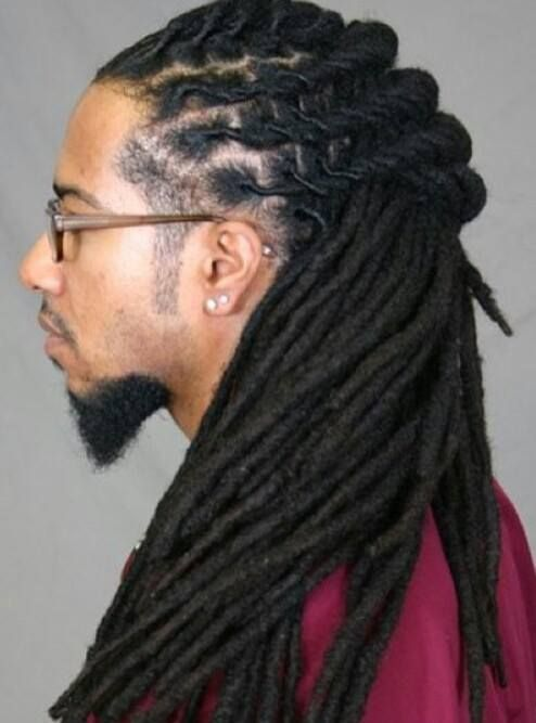 Dreadlocks with long tapering