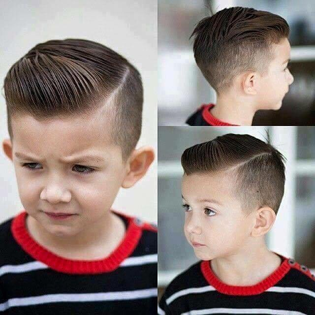40 Cute & Easy Hairstyles for School Boys 2018 - AtoZ Hairstyles