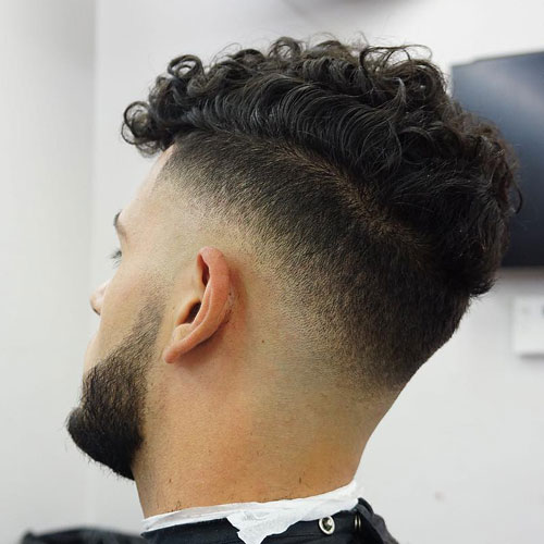 20 - Drop Fade - Curly Hairstyles