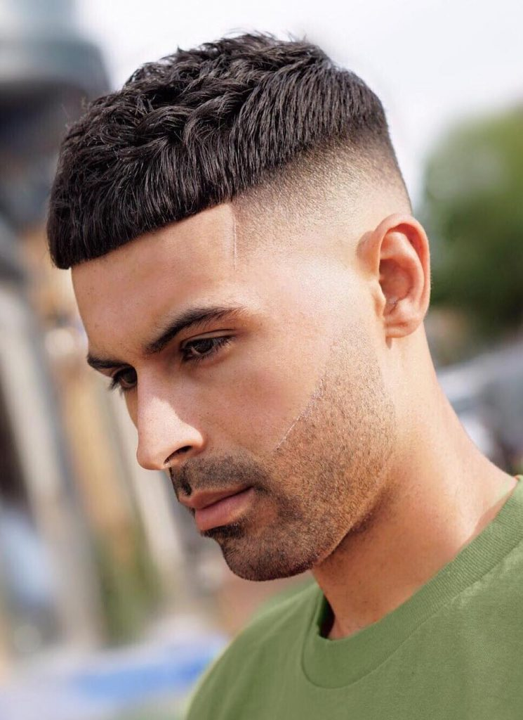 French-Crop-with-Sleek-taper-Fade