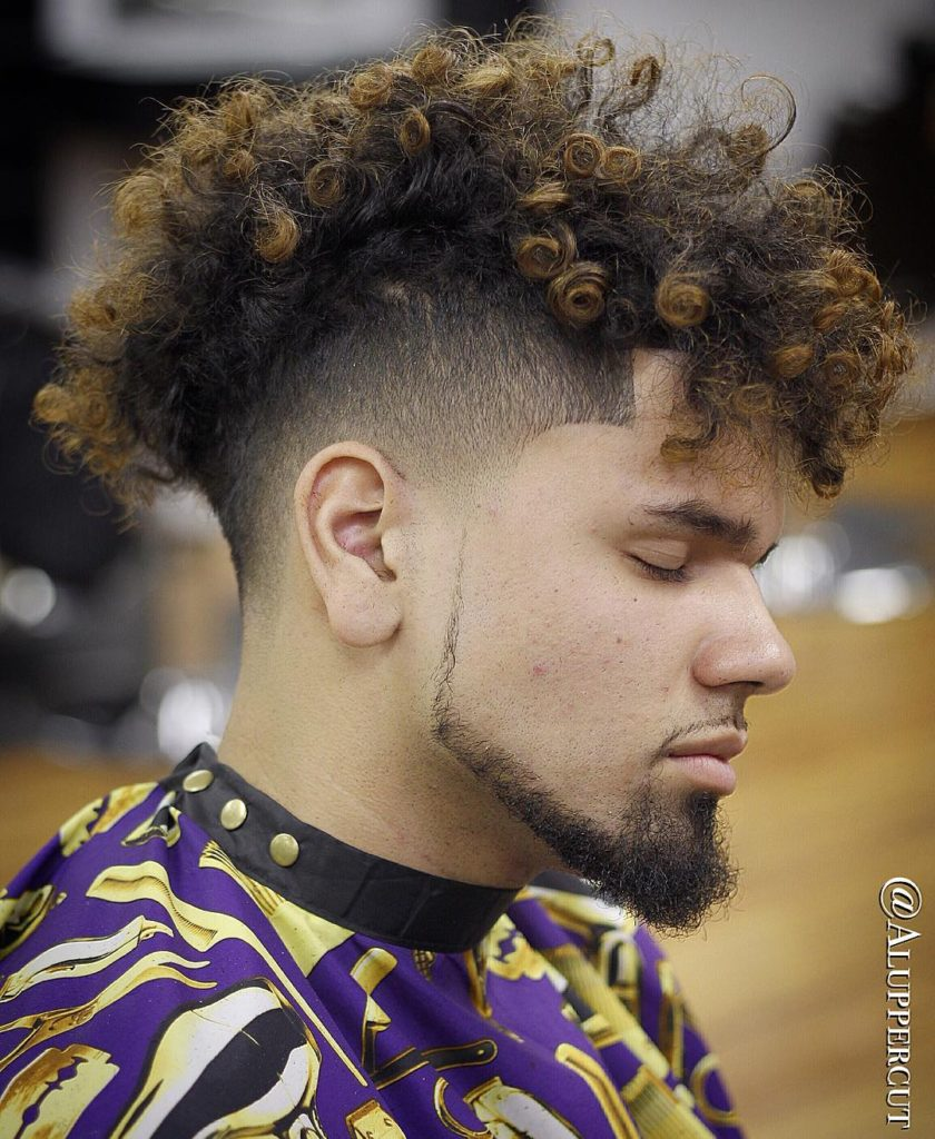 curly mohawk hairstyles curly hairstyles 40 stylish hairstyles for men with