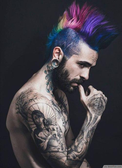 Technicolor Mohawk
