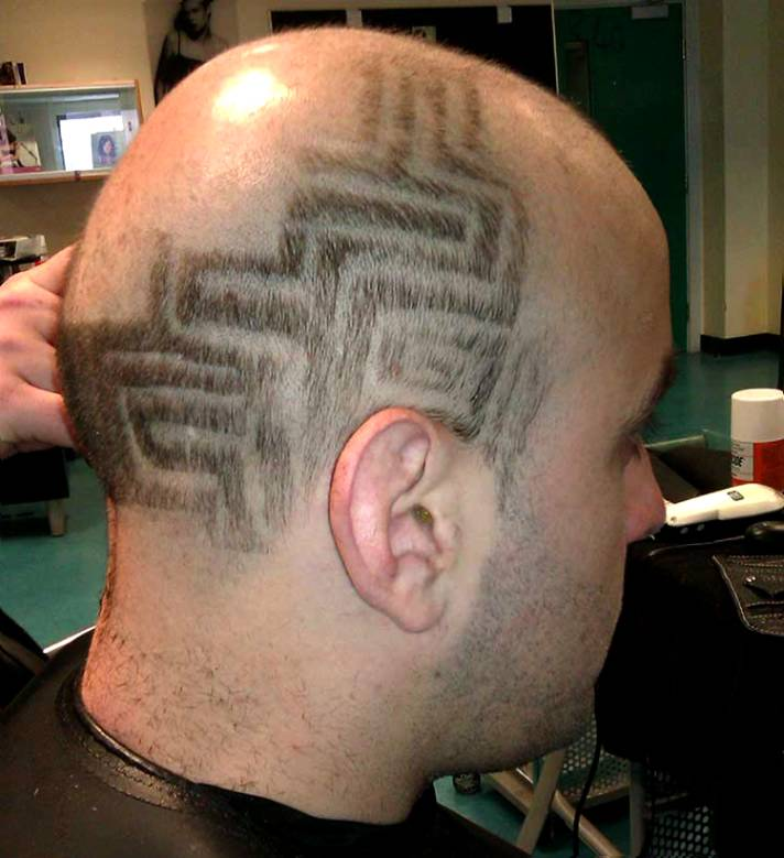 Hair Tattoo Designs 20 Cool Haircut