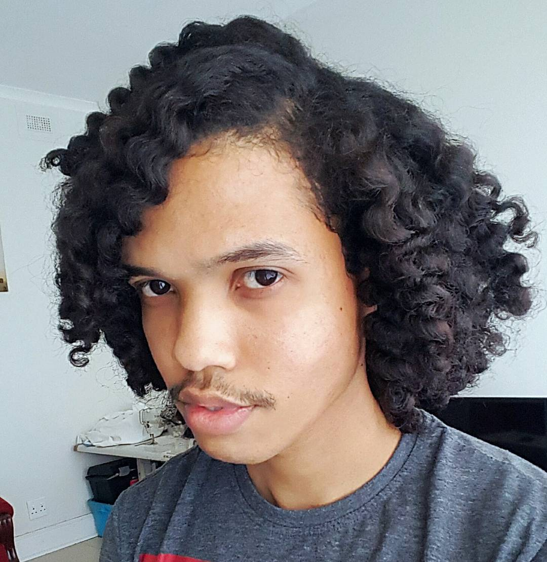 mens hair styles for curly hair curly hairstyles 70 stylish hairstyles for with 3518