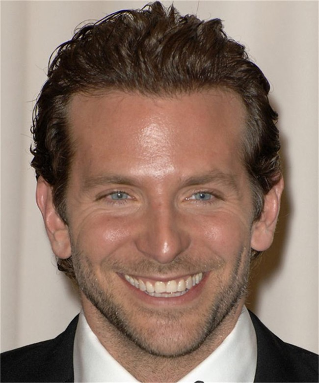 Short Wavy Formal - Bradley Cooper Hairstyles: How To Get Hair Like Bradley Cooper