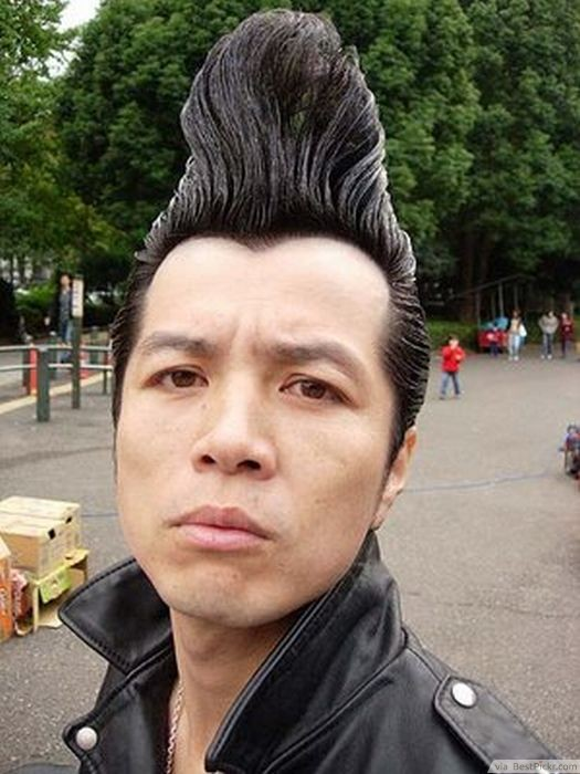 Punk Haircuts 40 Best Punk Hairstyles For Boys And Men