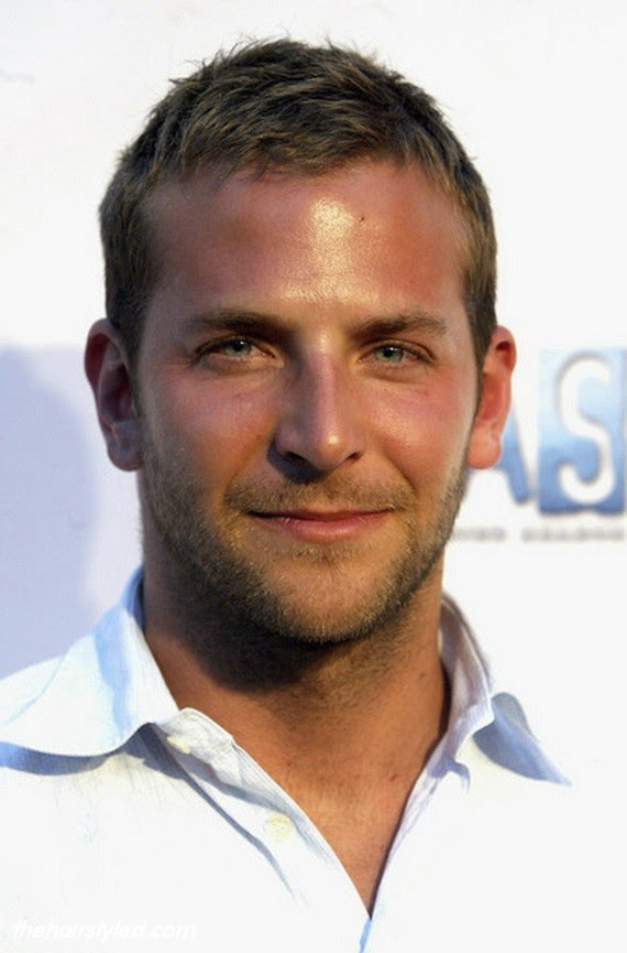 Short and Messy Haircut - Bradley Cooper Hairstyles: How To Get Hair Like Bradley Cooper