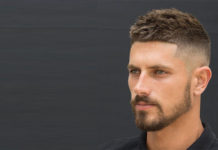 Mid Fade Haircut for Men