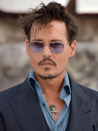 Johnny Depp Widows Peak