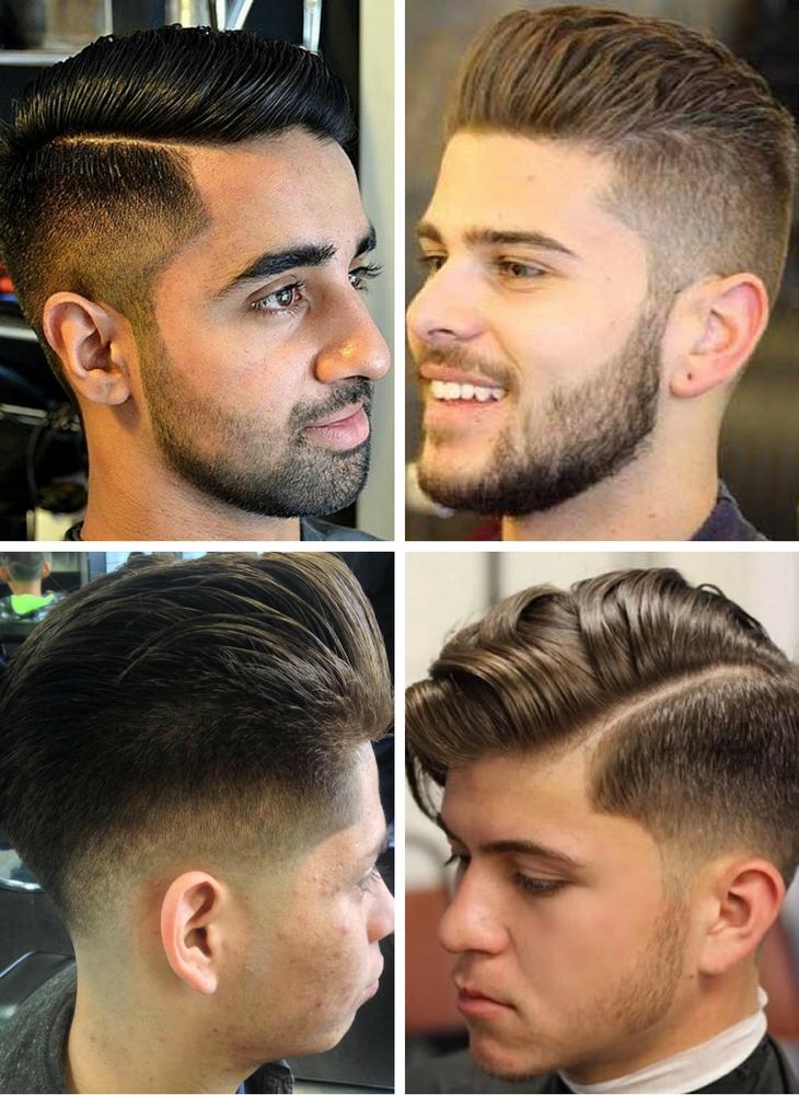 Scissor fade haircut
