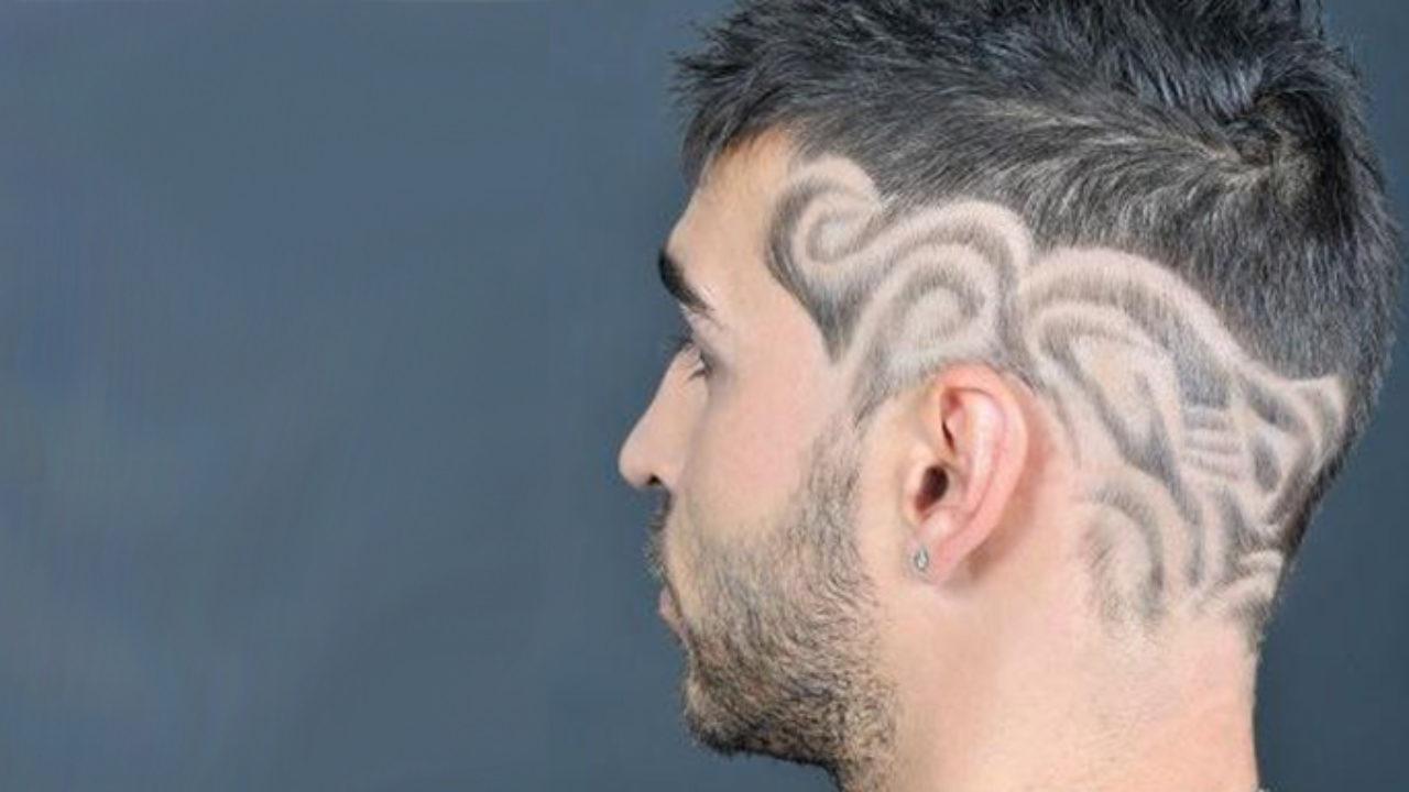 Hair Tattoo Designs  20 Cool Haircut Designs for Stylish