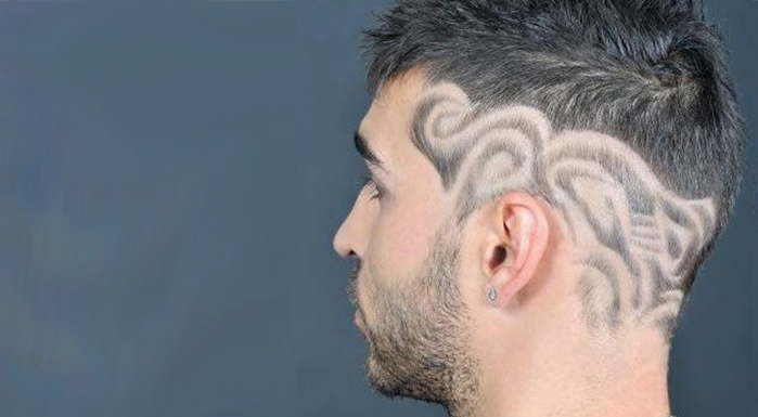 Admirable Hair Tattoo Designs 20 Cool Haircut Designs For Stylish Men And Natural Hairstyles Runnerswayorg