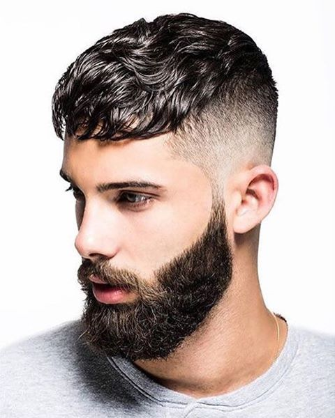 Skin Fade with Curls