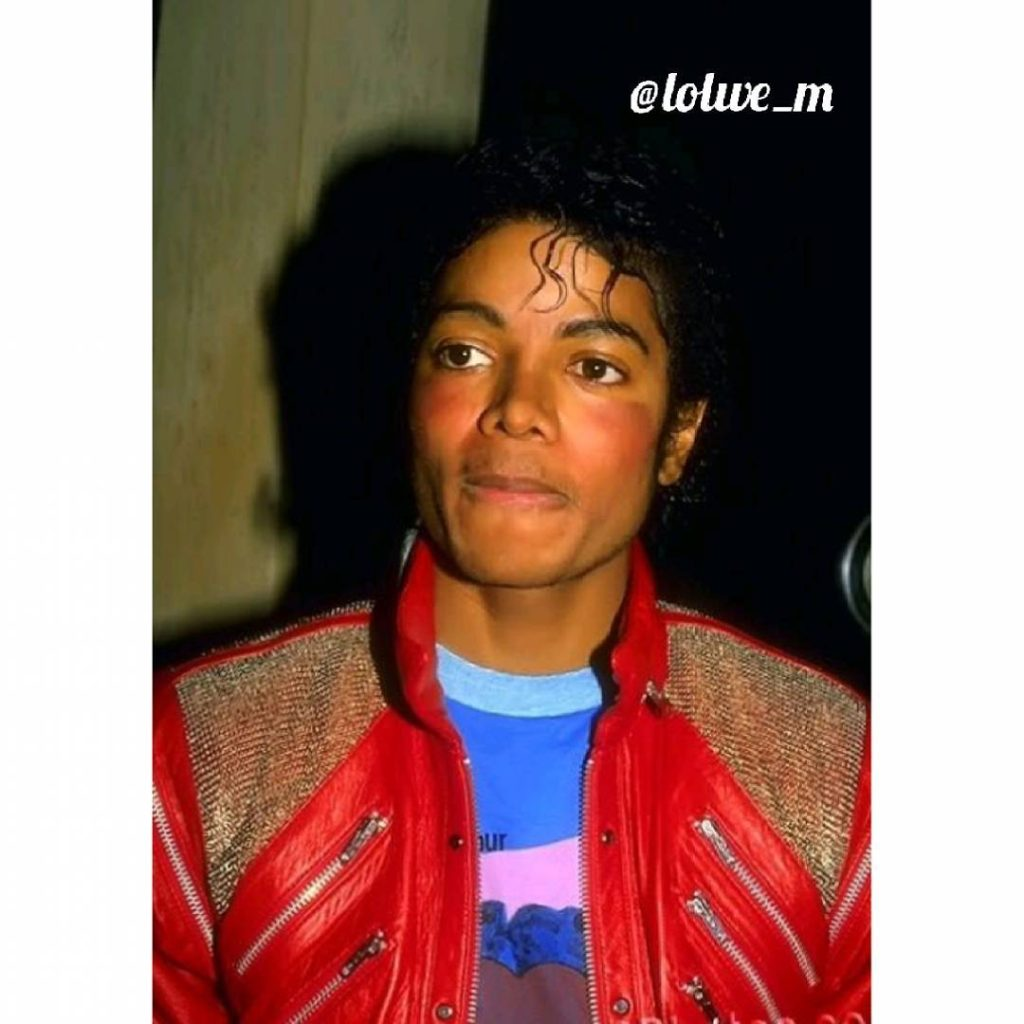 michael jackson (fashion) hair trends according to year