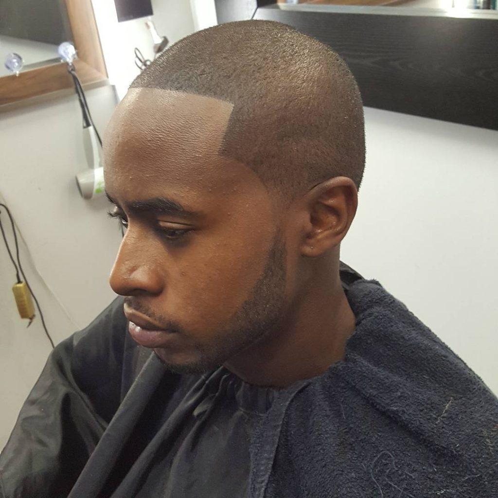 Bald Fade Caesar Cut