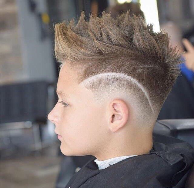Brush Up With Side Fade