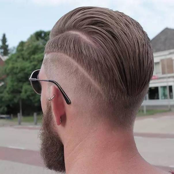 Double Tap Slicked Back