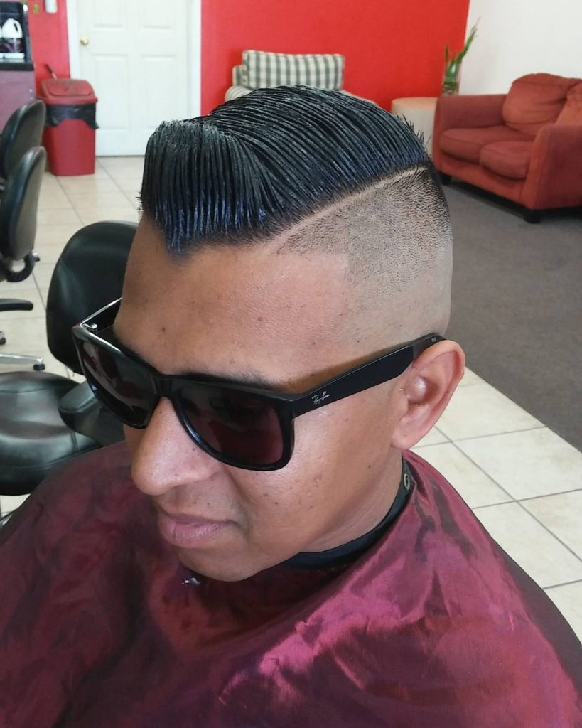 Disconnected Skin Fade