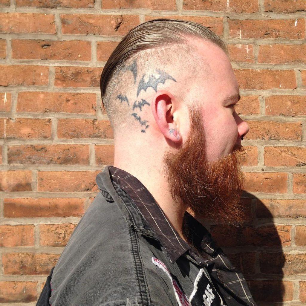 Slick Back with Side Shave