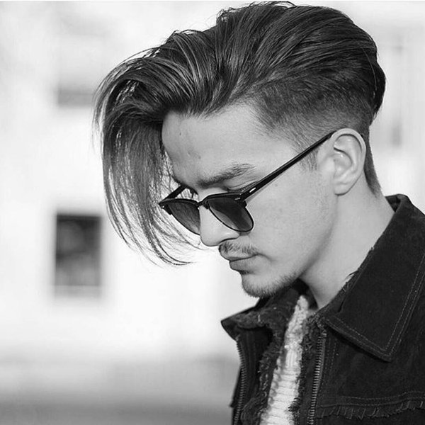 Straight Hair  Hairstyles for Men With Straight And Silky